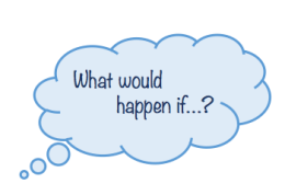 English - what would happen if